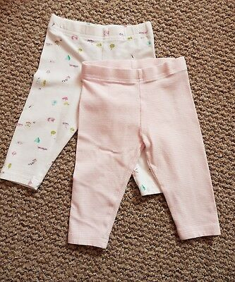 Next baby leggings. set of 2. 3-6 months