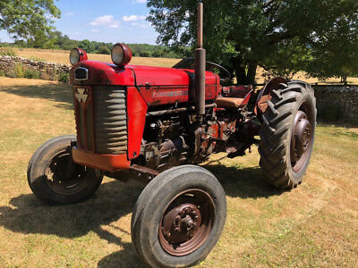 Massey Ferguson 65 MkII Tractor 1961. Not Massey 35, 135, Fordson Ford 3000/4000