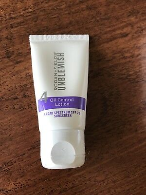NEW Rodan And Fields Unblemish - Step 4 Oil Control Lotion