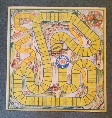 """""""The Red Crown Game"""" Red Crown Gasoline,Standard Oil Co.,Board Game,1937"""