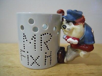 "Tazmanian Devil ~""mr. Fix It"" ~""mug/cup"" For Decor Only ~Rare/vintage"