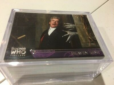 2009 Topps BBC Doctor Who Timeless Card Complete Base Set #1-100