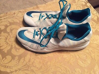 best service 6299d 99875 Mens-Nike Hyperfuse Zoom-Low Top-Basketball Shoes-Size 16.5 White-