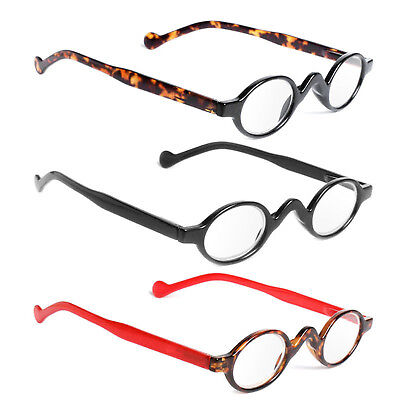 1f4f86388b15 Retro Vintage Mini Small Round Frame Men Womens Readers Reading Glasses New  UP