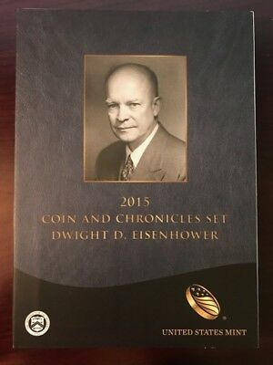 2015 Dwight D. Eisenhower Coin and Chronicle Set