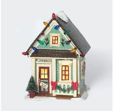 Dept 56-Snow Village-Let's Play House #56.55173 RETIRED