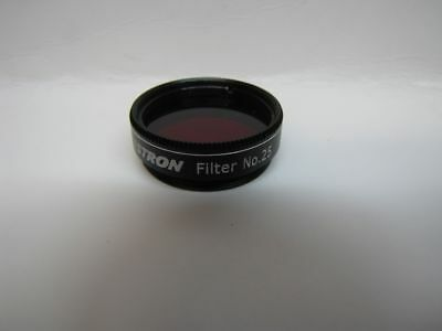 "Celestron Telescope 1.25"" Red Eyepiece Filter #25 Mars Planetary New!"