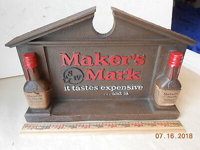 Makers Mark Store Display