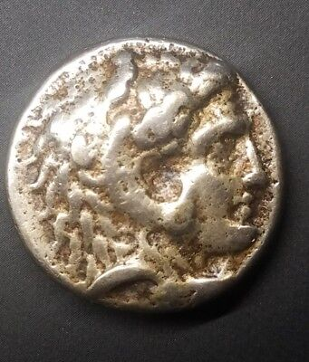 Silver Ancient Coin AR drachm, Alexander III (the Great), ca. 336-323 BC.☆☆☆☆