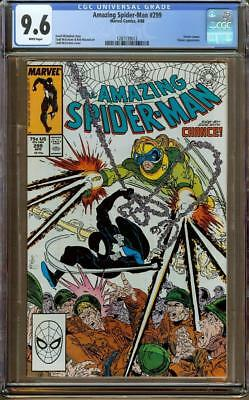 Amazing Spider-Man #299 CGC 9.6 WP - 1st Cameo Appearance of Venom (Last Page)