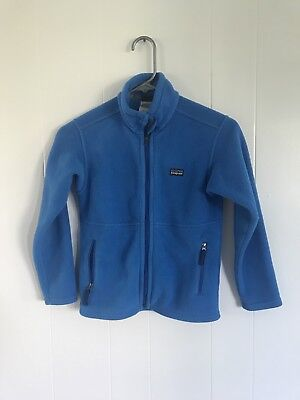 Girls Blue Patagonia Synchilla Fleece Size S