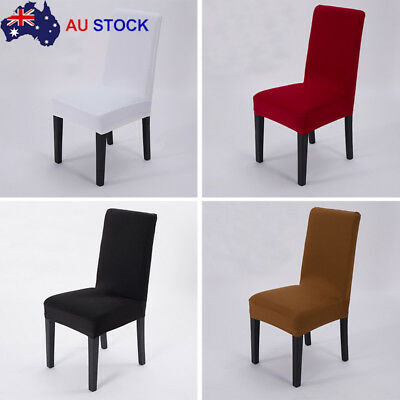 Stretch Dining Chair Cover Removable Slipcover Washable Banquet Event 2/4/6/8Pcs