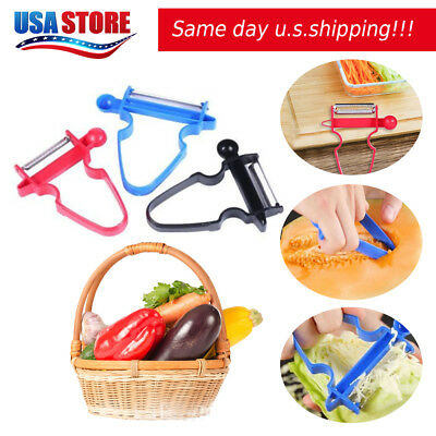 NEW 2018 Professional Magic Trio Peeler Vegetable Fruit Julienne (Set of 3) OB