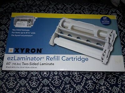 Xyron 2-Sided Laminator Refill Cartridge, 3 Mil, 60' Roll (XRN145612)