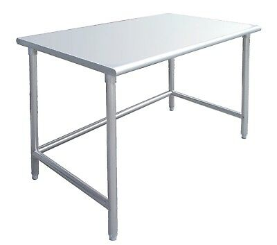 HEAVY DUTY Stainless Steel Food Prep Work Table 18 x 30 with Crossbar - NSF