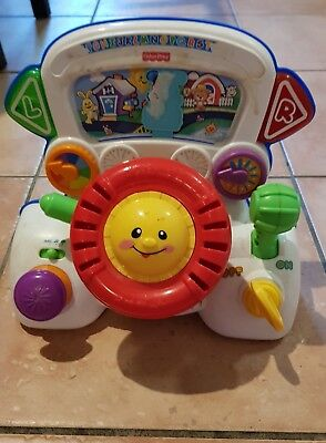fisher price laugh and learn rumble and learn driver