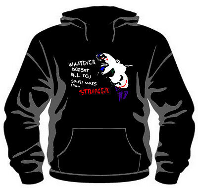 The Joker: Whatever Doesn't Kill You... Hoodie *High Quality, Unisex, All Sizes*