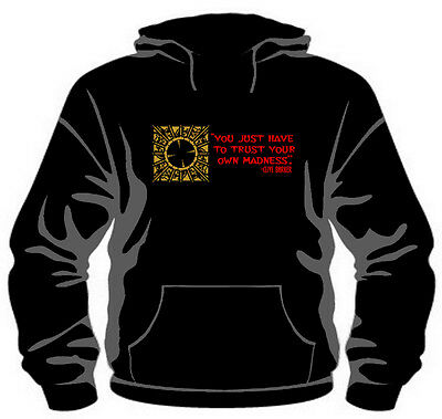 """""""Trust Your Madness"""" Hoodie *Quality Pullover* *Clive Barker Hellraiser*"""