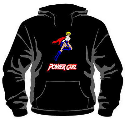Power Girl Hoodie *High Quality, Unisex, All Sizes*