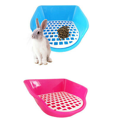Small Animals Toilet Pet Litter Tray Mouse Cat Rabbit Hamster Potty Pee Pad