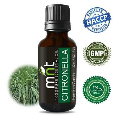 Citronella Essential Oil Pure Natural & Therapeutic Grade Aromatherapy Skin Oil