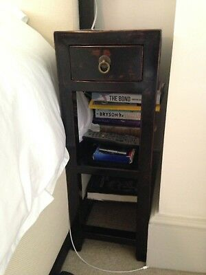 Antique Bedside Cabinets Pair