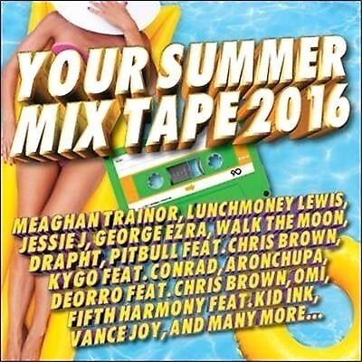 Your Summer Mix Tape 2016 CD NEW & SEALED Mixtape (36 HITS!!)