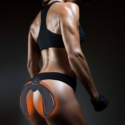 2 Style Hip Trainer Buttock Lifting Muscle Stimulation Massager Firming Pad Gel