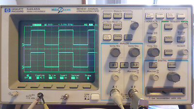 HP Agilent HP 54645D Mixed Signal Oscilloscope, 100Mhz, 200Ms/s