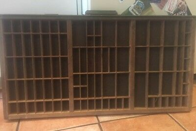 PRINTERS TYPE CASE Or Type DRAWER With Handle Full Size Typecase