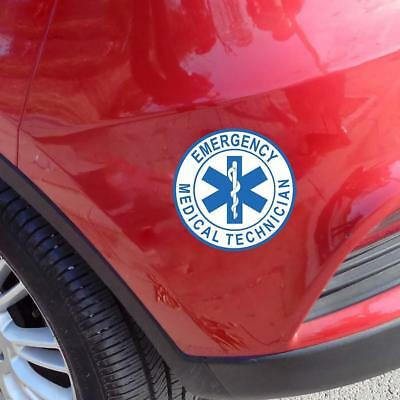 EMT Emergency Medical Technician Sticker Die Cut Decals 10*10CM s