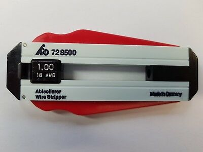 Präzisions-Abisolierer 1,00 mm AWG 18 HOFFMANN