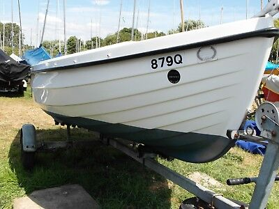 Orkney Spinner 13 boat, Outboard and Equipment