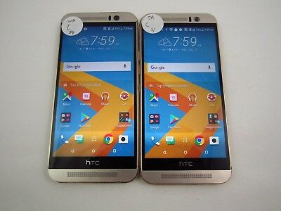Lot of 2 HTC One M9 OPJA120 Unknown/T-Mobile Check IMEI Grade C 3-364