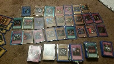 300 YUGIOH CARDS PREMIUM COLLECTION ULTIMATE LOT 25 holo. Ultra rares and more!