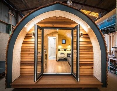Glamping pod Luxury En-suite  / Spare bedroom / Hotel accommodation