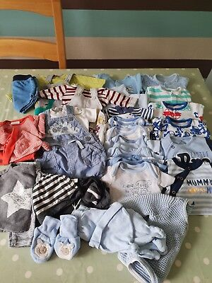 Baby Boy Clothes Bundle Tiny Baby/newborn/first Size