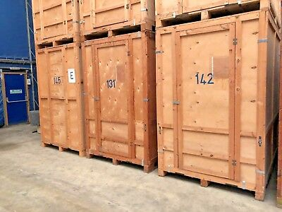Removals Wooden Storage Containers 250 Cubic Feet