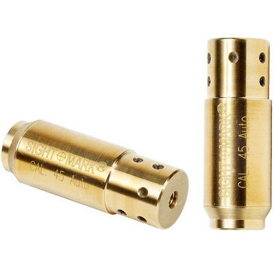 Sightmark .45 ACP Auto Pistol Gun Ammo Cartridge Red Laser Boresight 39017