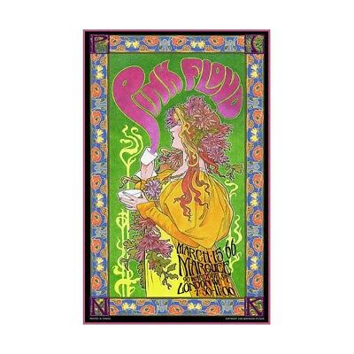 Maxi Size 36 x 24 Inch Pink Floyd Rainbow Theatre Poster New