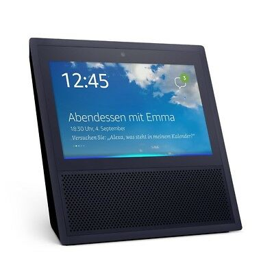 Amazon Echo Show Sprachgesteuerter Smart Assistant - Schwarz NEU & OVP