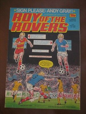 Roy of the Rovers 1983 Boys Comic.