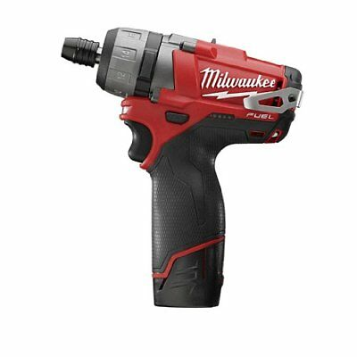 """Milwaukee 2402-22 M12 FUEL 1/4"""" Inch Electric 2-Speed Hex Screwdriver Kit"""