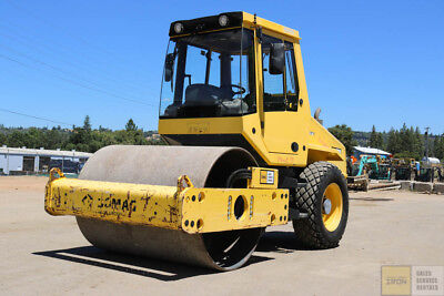 "2013 Bomag Bw177Dh-50 Smooth Drum Roller 66"" 700Hrs Cab Heat/air Clean Cummins"
