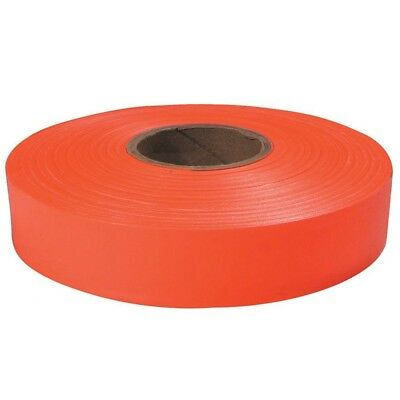 Empire 1 Inch x 600 ft. Top Quality Orange Flagging Tape High Standard NEW