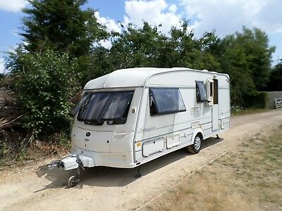 Abi 4 / 5 Berth Family Touring Caravan Awning & Annex Separate Shower Delivery