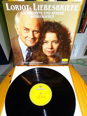 COMEDY LP * LORIOT& EVELY HAMANN - Loriots Liebesbriefe ... Club-Edition 1984 M-