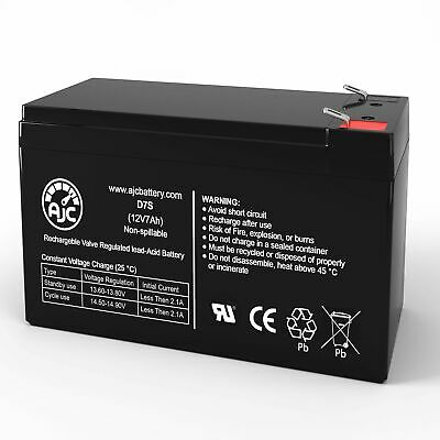 B&B HR1234W 12V 7Ah Sealed Lead Acid Replacement Battery