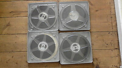 4 x 400ft AMATEUR STD 8mm CINE FILM HOLIDAYS HOME AND ABROAD 1950/60s