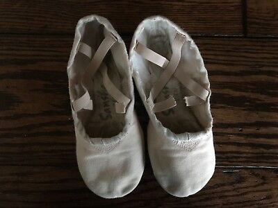 Sansha Pro Light Pink Canvas  Ballet Shoes Size 6N